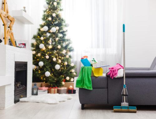 Γενική καθαριότητα σπιτιού τα Χριστούγεννα (Μέρος Β)
